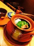 鱧と松茸の土瓶蒸し 1650円