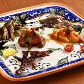 美しい器と料理の素敵なコラボレーション