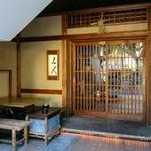 喧騒と静けさの狭間にある落ち着いた日本料理店