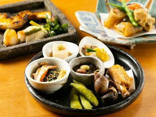 季節で変わる【山人】のおまかせ料理