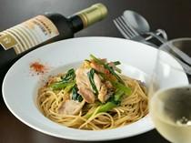 白ワインの豊かな風味でパスタを楽しむ