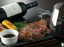赤ワインでガツンと肉料理を堪能