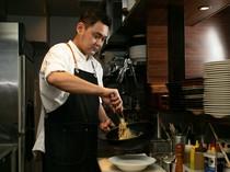 料理を通して多くの人を幸せにしていきたいと考える料理人