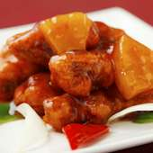 赤酢豚(香港式)