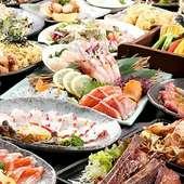 お好きなメインメニューをチョイス!全120品食べ飲み放題できるテーブルオーダーバイキング