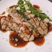 メインに京都牛を使用した、お肉料理のコースです。