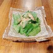 うりずん豆の雪塩ナムル