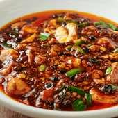 和山椒を使った麻婆豆腐
