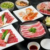 【特上食べ放題】特上カルビや、柔らか厚切り牛タンなど食べ放題