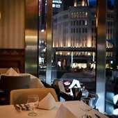 銀座の夜景を臨みながらゆっくりと過ごす贅沢ディナー