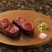 松阪牛のシャトーブリアンステーキ