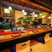 静かな住宅街の一角にある、昔ながらの寿司店