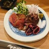 海老マヨパクチー。創作天ぷらです。