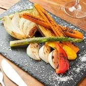 7種野菜の焼盛り