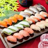 【お手頃】2時間寿司50種以上食べ放題プラン3480円⇒2480円
