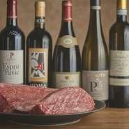 当店自慢の「極みコース」のほとんどのお肉はベテランスタッフによる焼きが入りますので、大事な接待向けのコースになります。ソムリエによる焼肉に合うワインありますので、お肉とワインで商談も弾みます。
