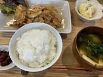 生姜焼き定食もおすすめ