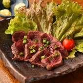 エゾシカ肉のたたき