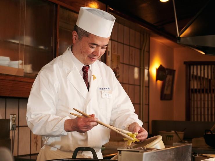 ゲストそれぞれのシーンに合わせ、とっておきの天ぷらを提供