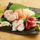 鮮魚の盛り合わせ 三点盛り
