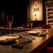 麻布十番隠れ家的レストラン