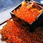 雲丹&いくらのこぼれ升寿司