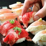 肉寿司24種