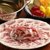 食べ放題の概念が変わる上質でおいしい食材を使用