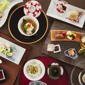 和洋中料理のマリアージュ「ミックスコース」