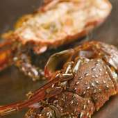 オマール海老の鉄板焼き