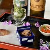 山梨が誇る食材で織りなすイタリアン&囲炉裏料理を満喫