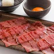 徳島県産あわそだちと一口ご飯を添えて