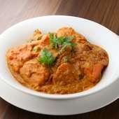 本場インド、ネパールの料理人による料理