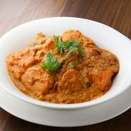 本場インド、ネパールの料理人による料理。