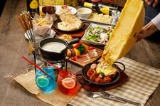 ★2h飲み放題付き★当店の三大名物!!シカゴピザ、ラクレット、チーズフォンデューが楽しめます♪