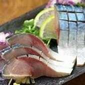 金華鯖の〆鯖