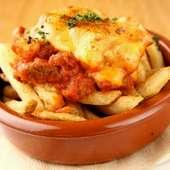 ラム肉のチリ&チーズ フレンチフライ
