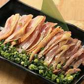 宮崎産 軍鶏のたたきポン酢