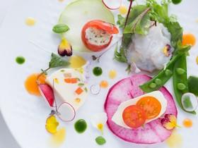 皿の上の自然 il Gastro Sara